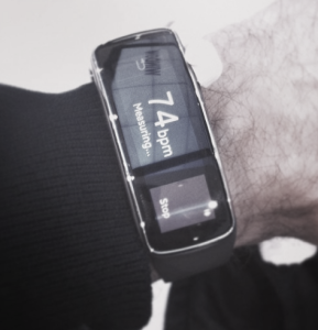 Smart Watch Samsung fit at MWC 2014