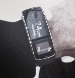 Smart Watch Samsung fit at MWC 2014