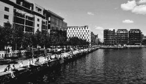 Grand Canal Quay at Dublin's Docklands District