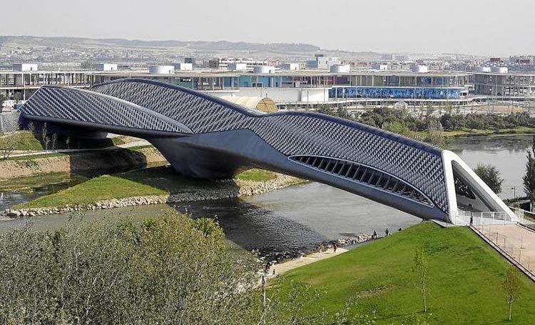 Zaha Hadid Bridge Pavilion