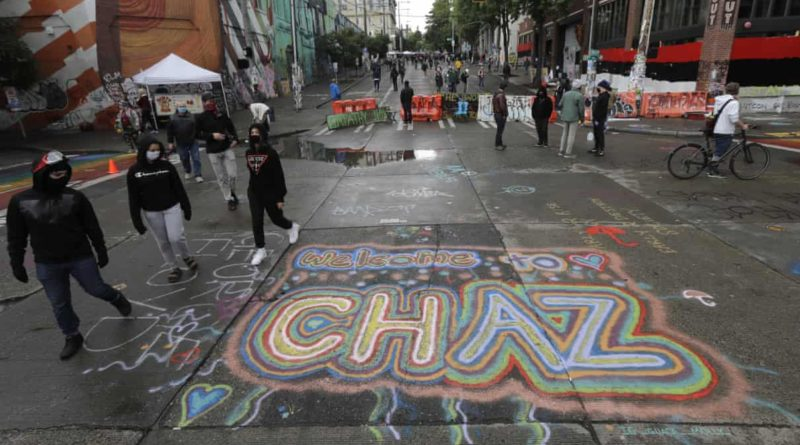 Zona Autónoma de Capitol Hill (CHAZ) en Seattle